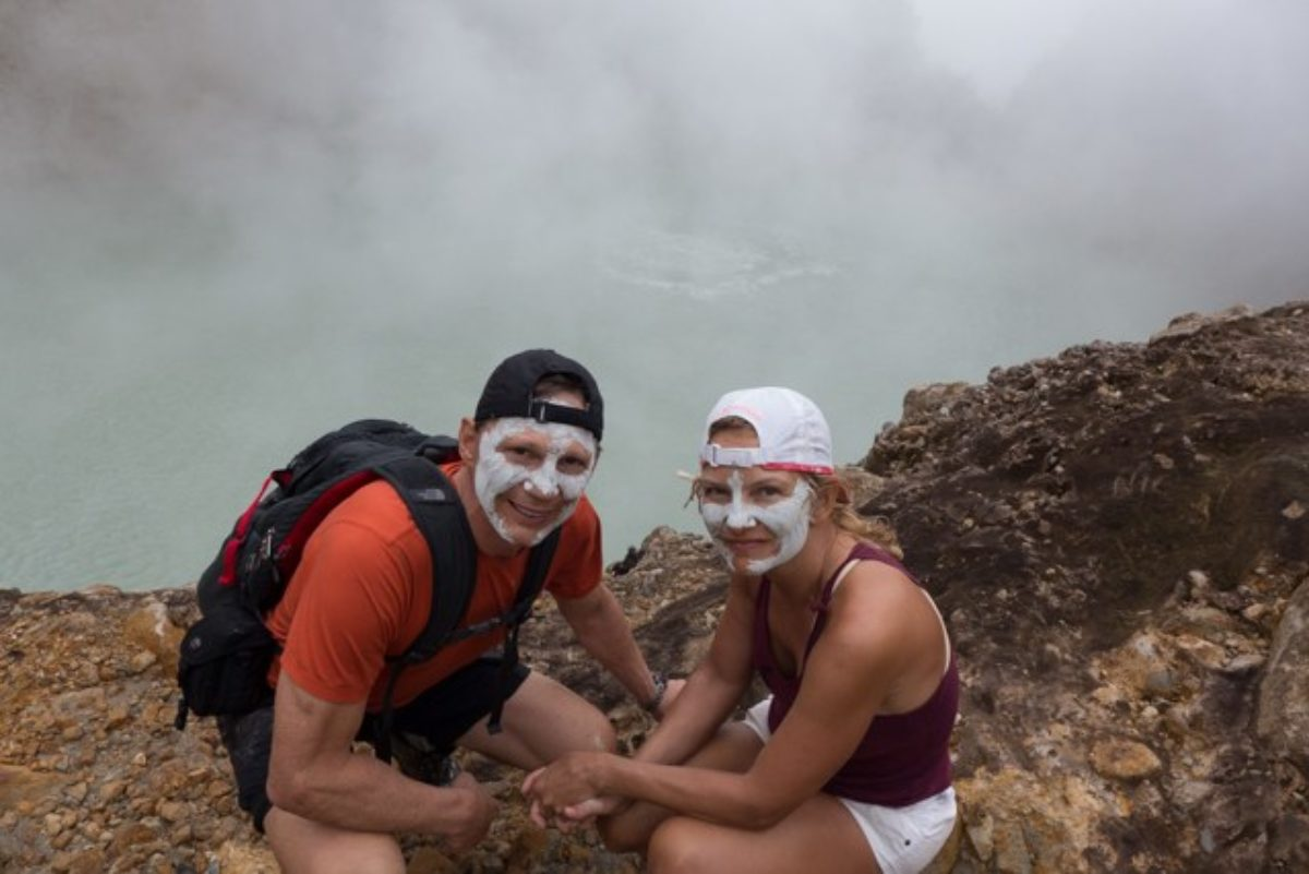 Hiking to Boiling Lake on Dominica