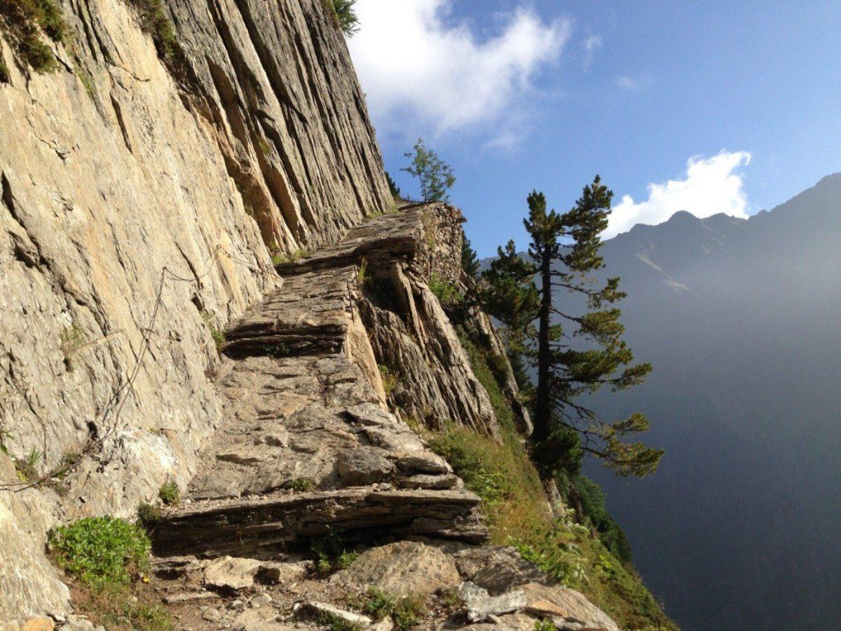 La Forclaz to Col de Balme to le Tour, Sun, 1 Sept