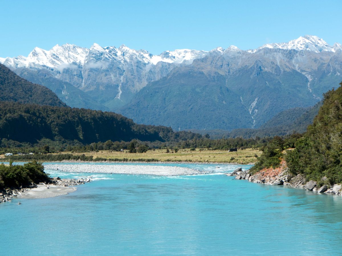 East to West over the Southern Alps of NZ