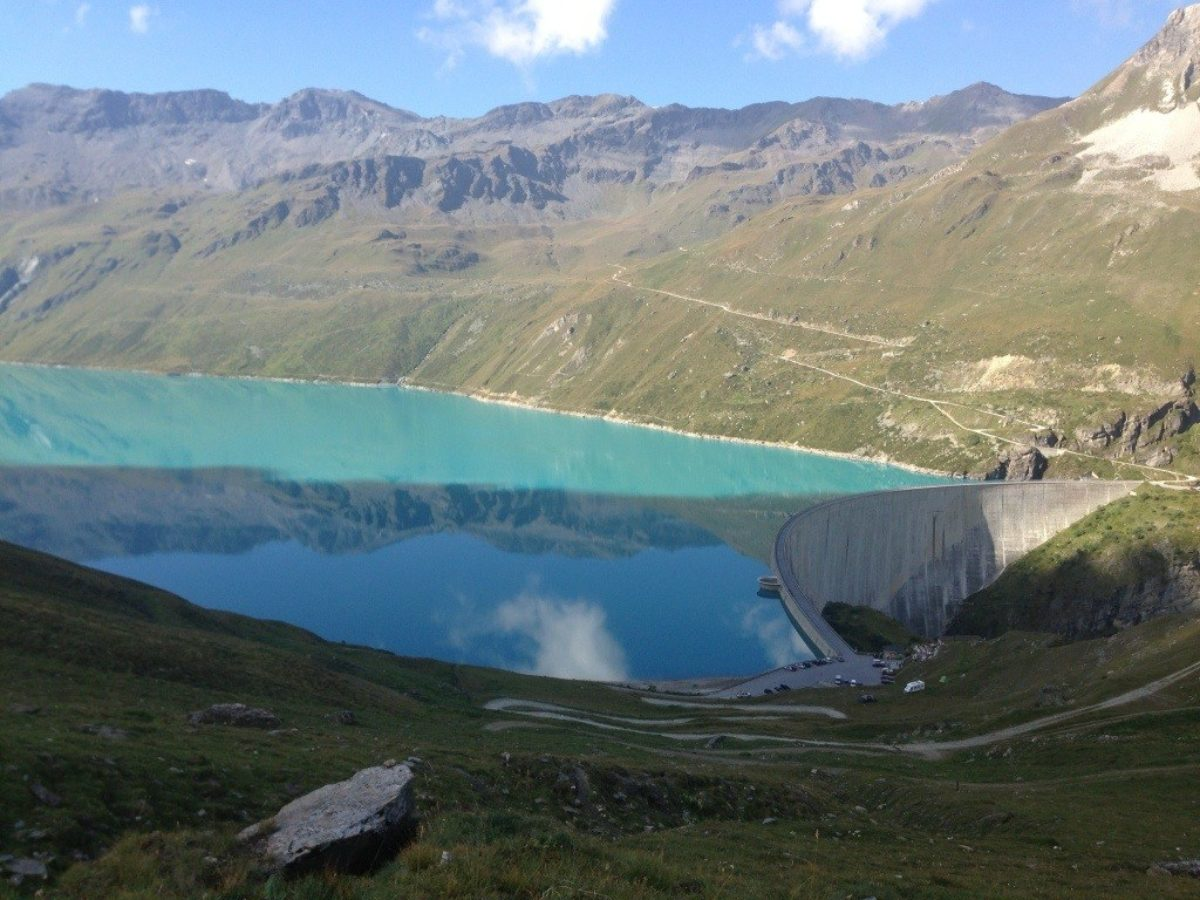 Moiry reservoir to Col de Sorebois to Grimentz to Zimal