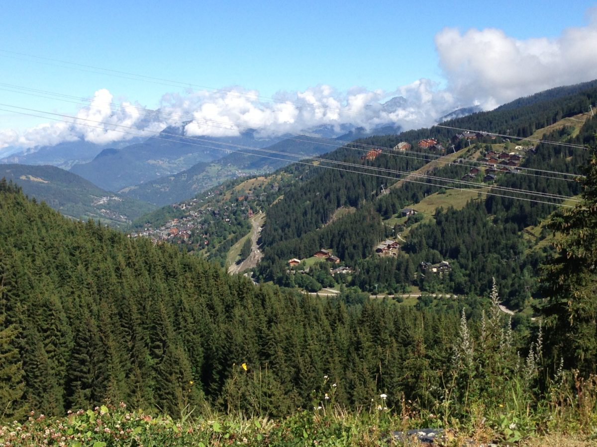 September Showers lead to…. Les Trois Vallees