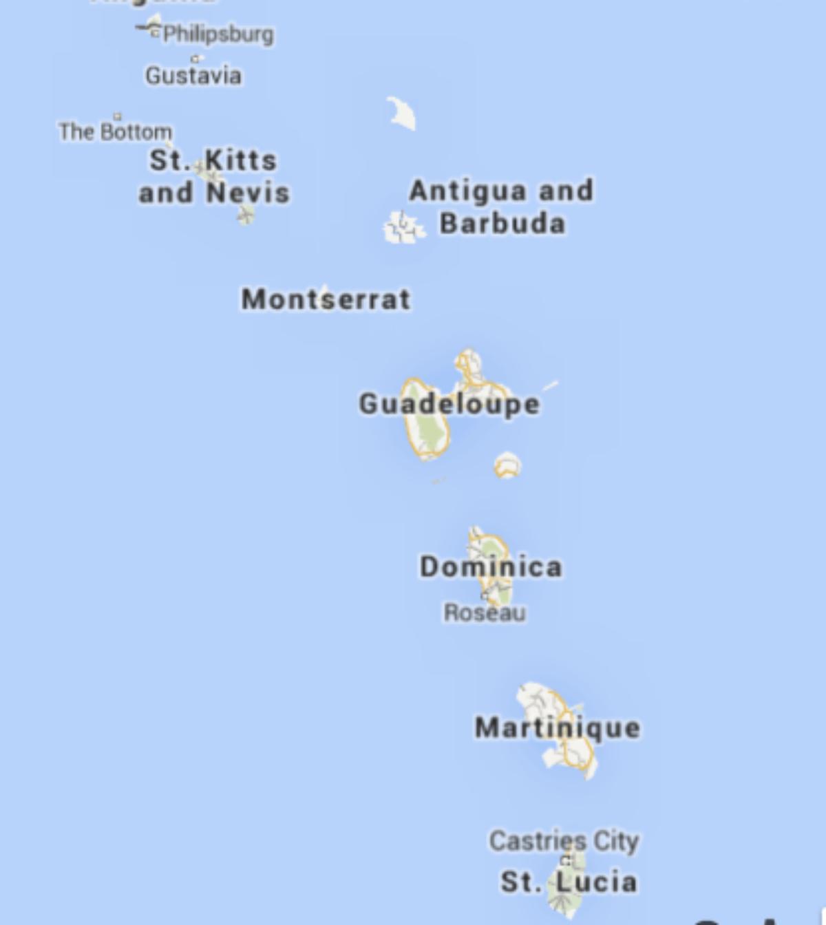 Sailing the Leeward Islands